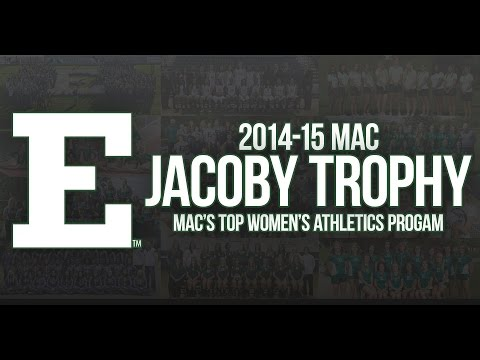EMU Earns First-Ever Jacoby Trophy as MAC's Top Women's Athletic Program