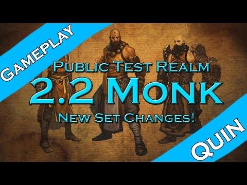 Diablo 3: 2.2 (PTR) Monk Set Changes