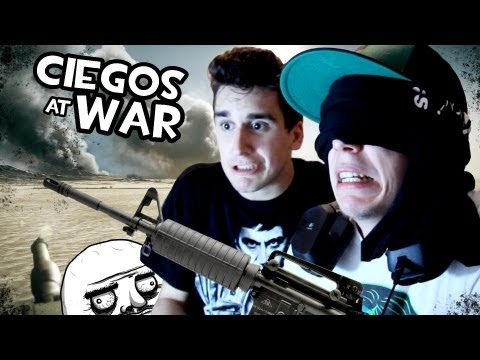 elrubiusomg - Like si NUNCA deberian de admitir a soldados ciegos guiados por Mangeles en la guerra. Y fap para moar juegos A Ciegas! :D Recomendadme juegos en los comment...