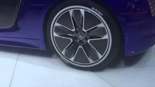 電気自動車もスピードを競う時代に!Audi のR8 e-tronが遂に市販化