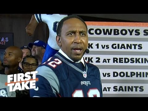 Video: Stephen A. predicts every game of the Cowboys' 2019 season in front of Cowboys fans | First Take