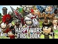 Happy Wars (Free Action MMO Game): Watcha Playin'? Gameplay First Look