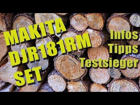 Säbelsäge Makita DJR181RM Akku Reciprosäge SET | Infos, Tipps und Testsieger | SaebelSaegen.net