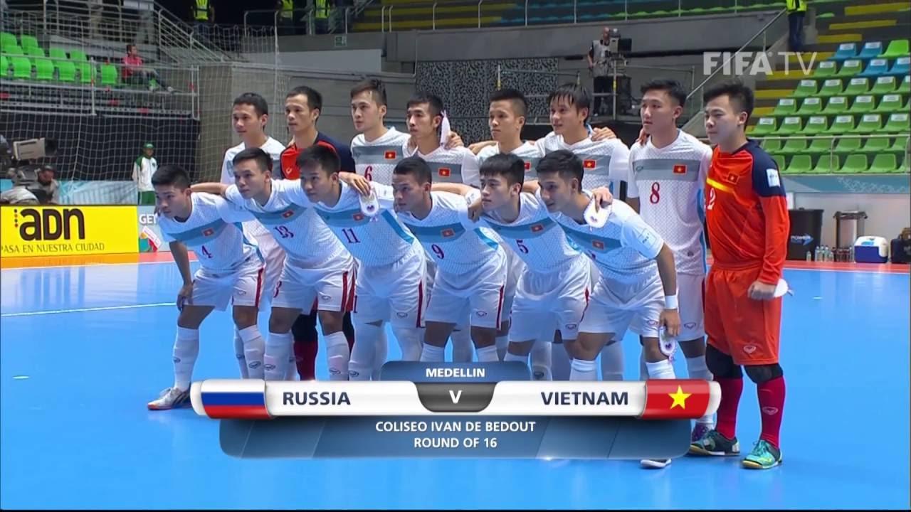 Match 37:  Russia v Vietnam – FIFA Futsal World Cup 2016