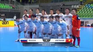 Video Match 37:  Russia v Vietnam - FIFA Futsal World Cup 2016 MP3, 3GP, MP4, WEBM, AVI, FLV Juli 2017