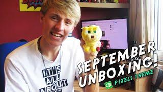 1UP BOX - SEPTEMBER UNBOXING - #Pixels