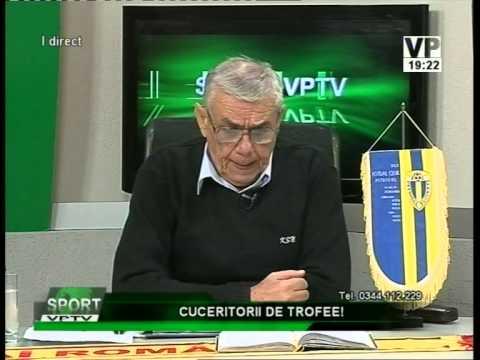 Emisiunea Sport VPTV – Florin Bercea, Marius Sersea și Adrian Nistoroiu – 6 octombrie 2014