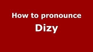 Dizy France  city images : How to pronounce Dizy (French/France) - PronounceNames.com