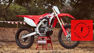 4. Technical Briefing of the 2019 Honda CRF450R