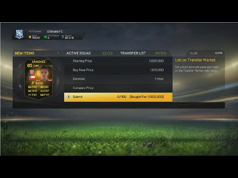 trade - In this video I will showing you a trade with IF Alexis Sanchez, so hopefully you enjoy this video and if you do please leave a Like, thanks. MSP/PSN Codes and Games https://www.g2a.com/r/rig...
