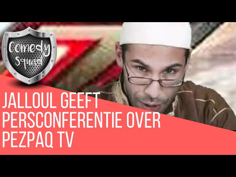 | BREAKING NEWS: Persconferentie Jalloul over PezPaq TV