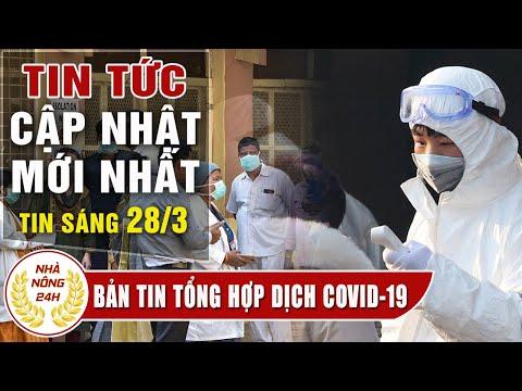 Tin tức dịch bệnh corona ( Covid-19 ) sáng 28/3 Tin tổng hợp virus corona Việt Nam đại dịch Vũ Hán