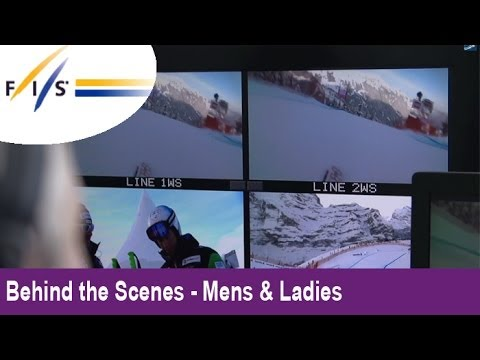 FISAlpine: TV Media coverage in Wengen