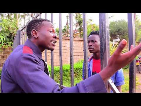 MCA TRICKY akaziwa kuwatch WORLD CUP    ft Nyachio