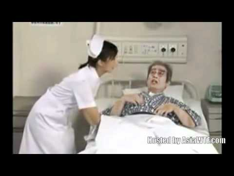 Hospital bed wetting-Funny Japanese video