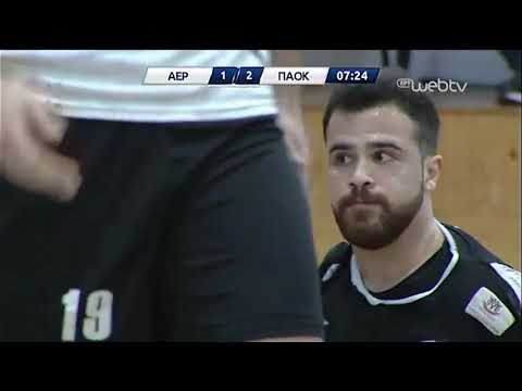 Handball Premier : ΑΕΡΩΠΟΣ ΕΔΕΣΣΑΣ – ΠΑΟΚ | 08/03/2020 | ΕΡΤ