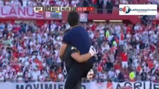 Gol de Centurion - River  Plate v Boca uniors 2-4 - Super Clasico Argentino - 11/Diciembre/2016