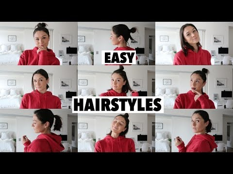 Hairstyles for short hair - GO TO *HEATLESS* HAIR STYLES FOR SHORT HAIR