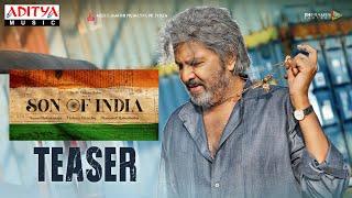 Son of India Teaser – Dr. M. Mohan Babu | Ilaiyaraaja | Diamond Ratna Babu | Vishnu Manchu