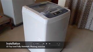 LG Top Load Automatic Washing Machine (Unboxing, Installation, Operation Guide) 2016 HD T72CMG22P