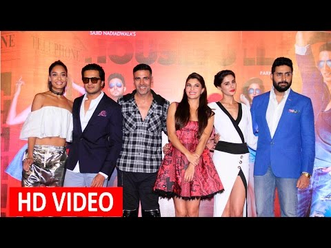 Aksahy Kumar, Ritesh Deshmukh, Jacqueline & Others At Trailer launch Of Housefull 3 - UNCUT
