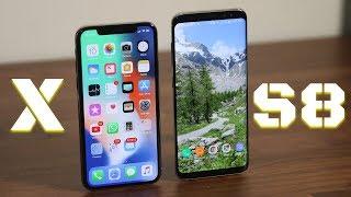 Video iPhone X vs Samsung Galaxy S8: Full Comparison MP3, 3GP, MP4, WEBM, AVI, FLV November 2017
