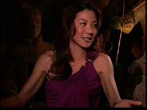 Michelle Yeoh Jet Li interview The Mummy Tomb Dragon Emperor
