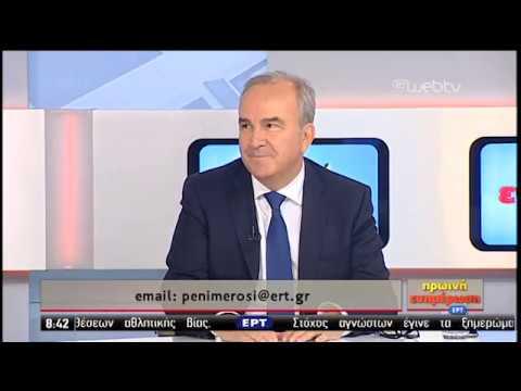 O υφυπουργός Ανάπτυξης και Επενδύσεων Νίκος Παπαθανάσης στην ΕΡΤ | 19/08/2019 | ΕΡΤ