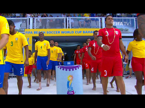 Match 32: Brazil V Tahiti - FIFA Beach Soccer World Cup 2017
