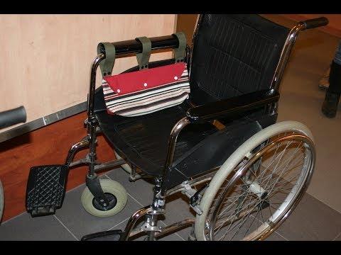 Rollstuhltasche nähen mit Schnittmuster