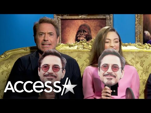 Robert Downey Jr.'s Co-Stars Rate Him Against Iron Man & Doctor Dolittle In Rapid-Fire Game