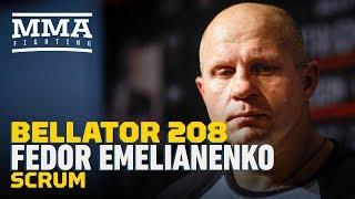 Video Bellator 208: Fedor Emelianenko Explains Why He Has Never Let Opponent 'Offend' Him - MMA Fighting MP3, 3GP, MP4, WEBM, AVI, FLV Oktober 2018