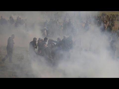 Αιματηρές συγκρούσεις στη Γάζα