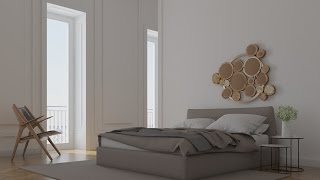 Video Vray Basic : Step By Step How To Render A Bedroom - Hướng Dẫn Render Phòng ngủ MP3, 3GP, MP4, WEBM, AVI, FLV Desember 2017