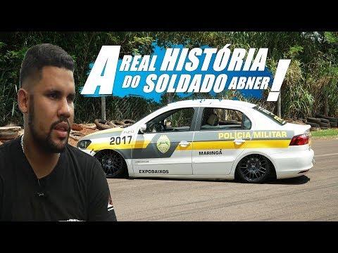 Soldado Abner e seu Voyage temático Polícia Militar - Canal 7008Films/Expobaixos