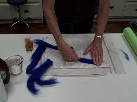 Feltmaking for Beginners--Part1.wmv