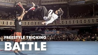 Freestyle Tricking Battle   Red Bull Throwdown 2014