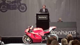 8. 2008 Ducati 990cc Desmosedici RR One Owner, 1,500 Miles!