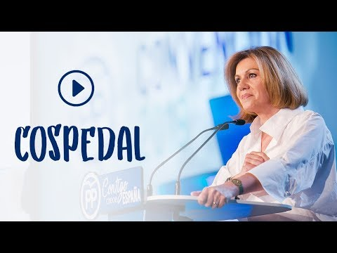 """Cospedal: """"Cuando el PP gobernó en Castilla la Mancha redujimos el déficit 6 puntos en un año"""""""