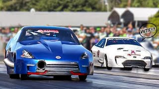 2JZ Nissan Goes FULL SEND! (5's @ 230mph!) by 1320Video