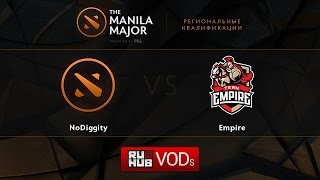 Empire vs DiG, game 1