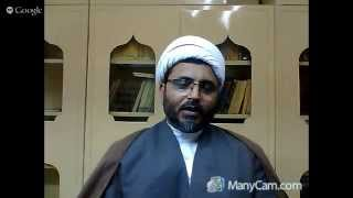 Weekly Dars 10: Imam Raza (a.s)