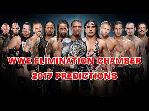 WWE Elimination Chamber 2017 SmackDown Tag Team Championship Tag Team Turmoil Match