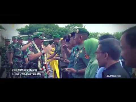 Kunjungan Panglima TNI ke Markas Divif 2 Kostrad