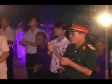 Tuổi trẻ thị xã Thái Hòa Nghệ An thắp nến tri ân 27-7