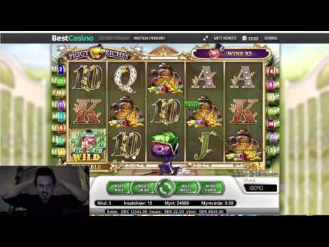 Super mega win on piggy riches