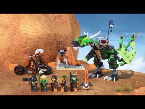 Vidéo LEGO Ninjago 70593 : Le dragon émeraude de Lloyd