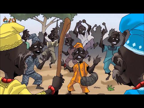 Àló̩ Àpagbè 4: Why Monkeys Look Like Humans | A Yoruba Folk Tale.