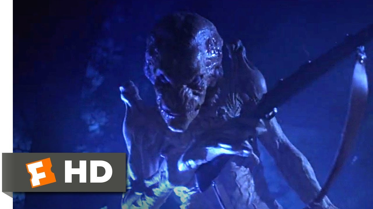Pumpkinhead (1988) - A Rifle Through the Chest Scene (8/10) | Movieclips