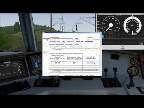 Vorbeifahrt am LZB-Halt auf Befehl